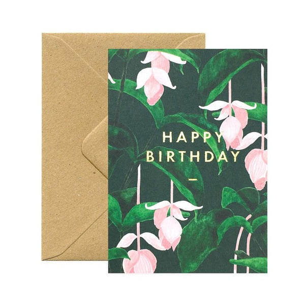 ALL THE WAYS TO SAY MEDINILLA HAPPY BIRTHDAY GreetingCard Made in France