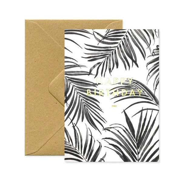 ALL THE WAYS TO SAY PALM TREE HAPPY BIRTHDAY GreetingCard Made in France