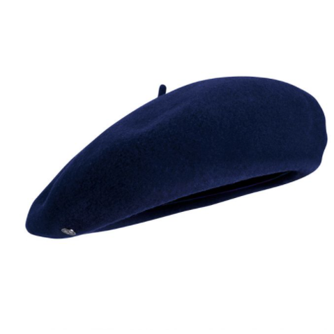 Béret, navy, Laulhère, Made in Paris
