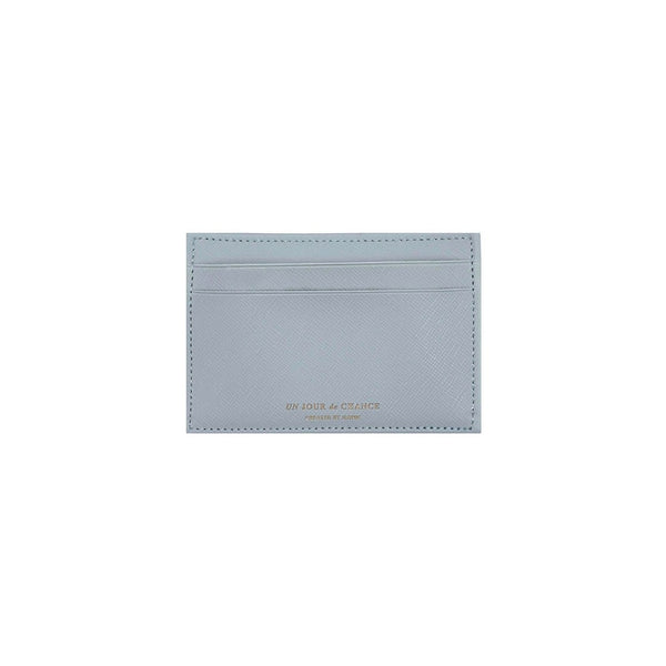 ICONIC Flat CARD POCKET hellgrau Made in Korea Geschenk Gift