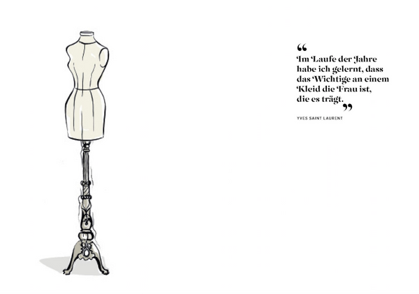 Prestel - The Dress - 100 Iconic Moments in Fashion - Megan Hess