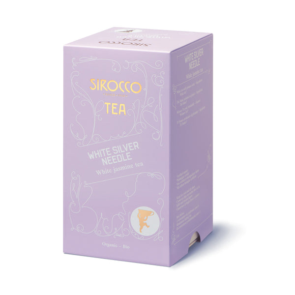 SIROCCO - White Silver Needle Tea 100% organic handcrafted luxury tea