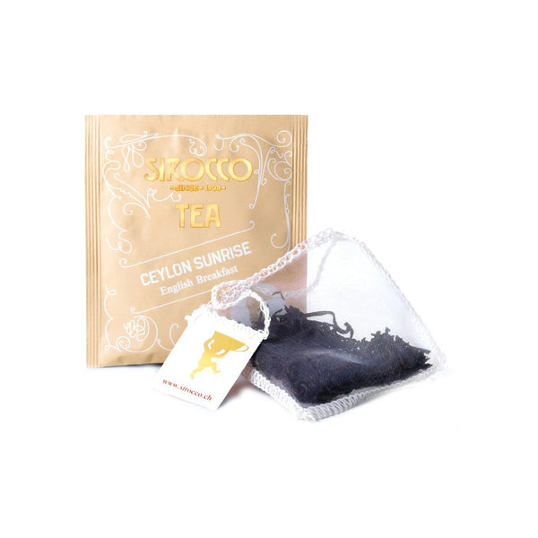 SIROCCO - Ceylon Sunrise Tea 100% organic handcrafted luxury tea