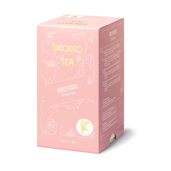 Sirocco RED KISS 100% organic handcrafted luxury tea