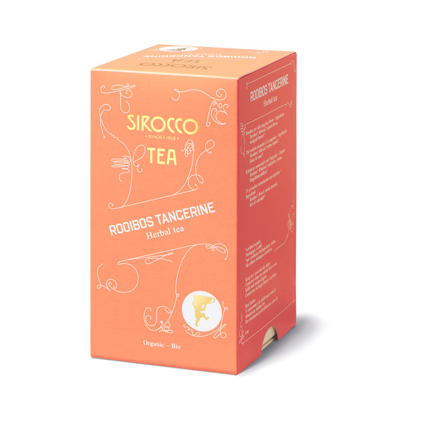 SIROCCO - Rooibos Tangerine Tea 100% organic luxury tea