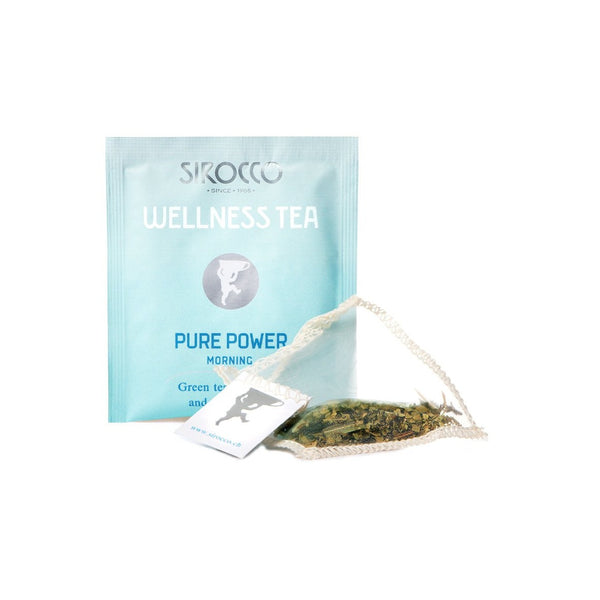 Sirocco DETOX PURE POWER 100% organic handcrafted luxury wellness tea