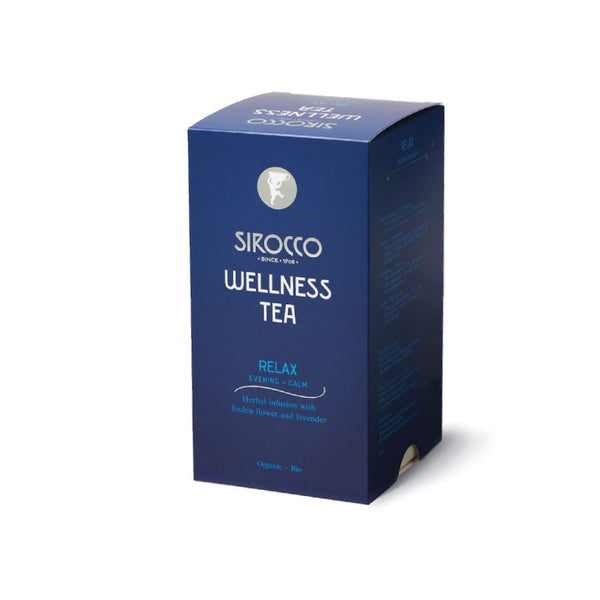 Sirocco DETOX RELAX 100% organic handcrafted luxury wellness tea