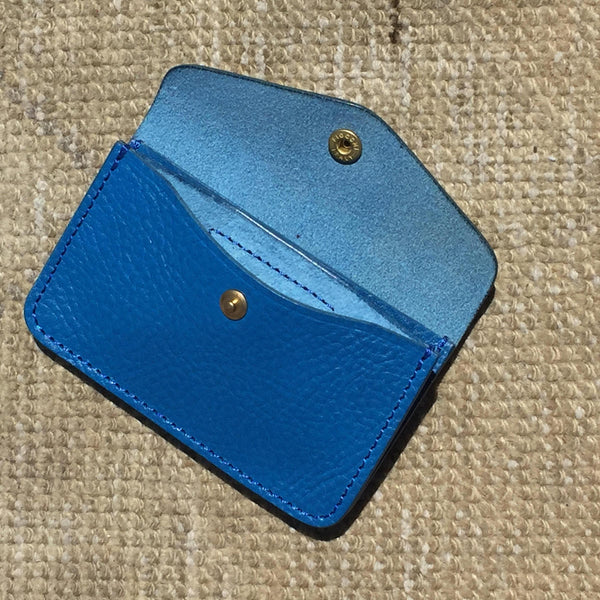 Superior Labor Japan TRAVELER'S SMALL WALLET blue Geschenk Handmade