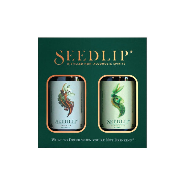 Seedlip SPICE94/GARDEN108 Giftbox alkoholfreie Spirituose made in UK