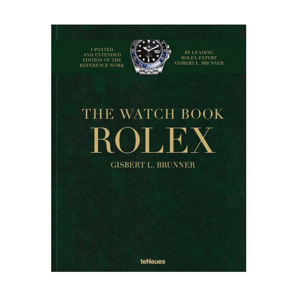 teNeues, ROLEX - THE WATCH BOOK, Gisbert L.Brunner, Bildband Geschenk