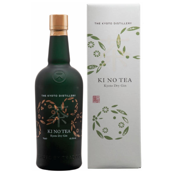 THE KYOTO DISTILLERY Ki No Tea Kyoto Dry Gin 45.1% 70cl Made in Japan