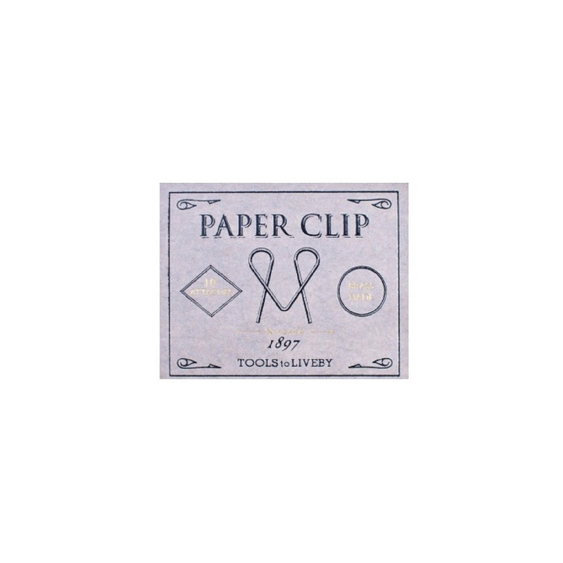 TOOLS TO LIVEBY Paper Clip Brass Made Design Niagara Decoration Taiwan