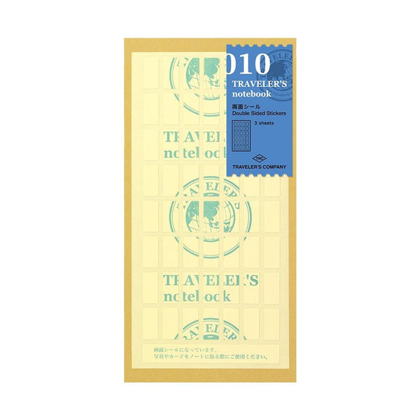 TRAVELER'S COMPANY, DOUBLE SIDE STICKERS No010, Notebook Accessoires