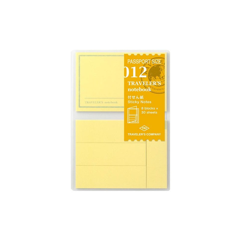 TRAVELER'S COMPANY, STICKY NOTES No012, Passport size, Geschenkidee