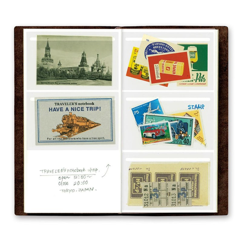 TRAVELER'S COMPANY, POCKET STICKER No023, standard size, Geschenkidee