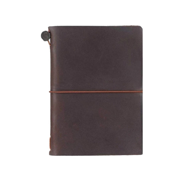 Traveler's Company Notebook Passport Size Braun