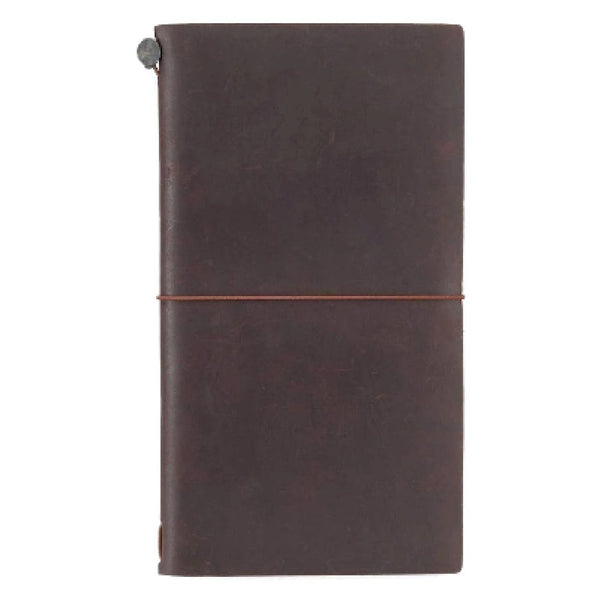 TRAVELER'S NOTEBOOK, brown, Notizbuch, Nachhaltig, Fair Handmade retro