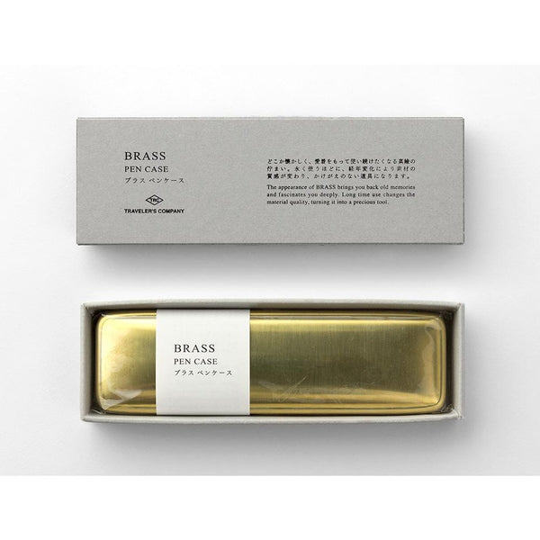 TRAVELERS COMPANY BRASS PEN CASE Made in Japan Geschenk, Gift, Design