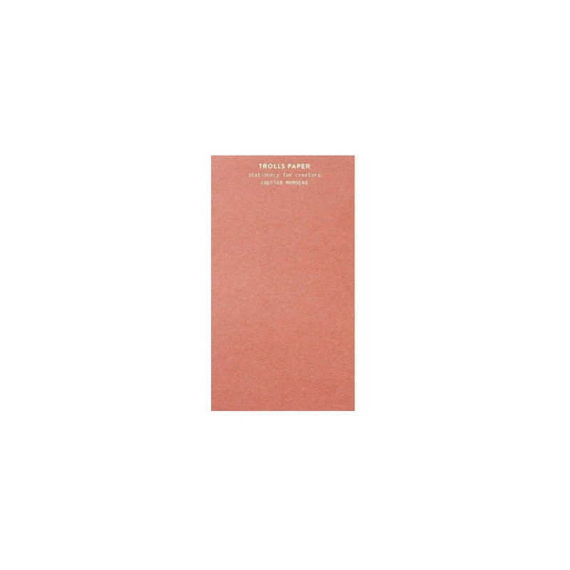 Trools Paper Memopad - Rose