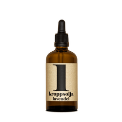 Terrible Twins, BODY OIL No1 - Lavendel, Körperöl, organic