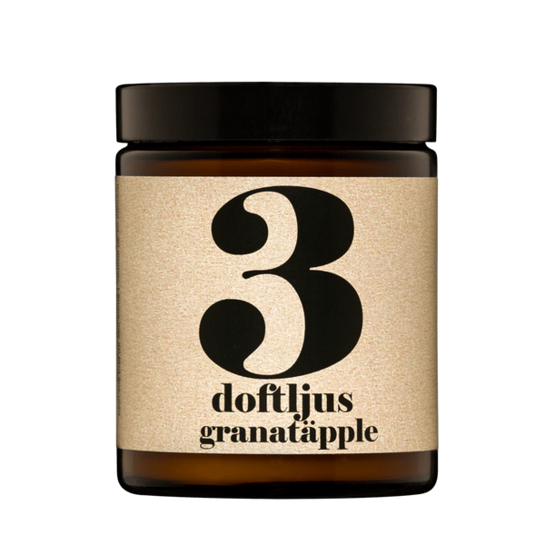 Terrible Twins, SCENTED CANDLE No3 - Granatapfel, Duftkerze, vegan