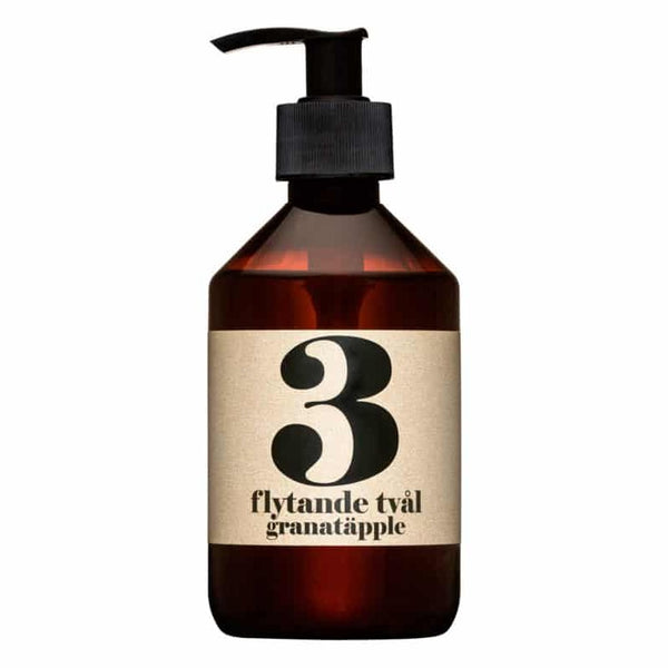 Terrible Twins, LIQUID SOAP No3 - Granatapfel, handwash, organic vegan