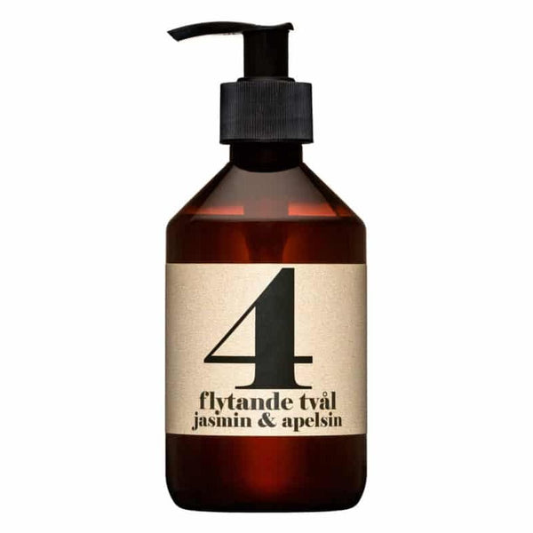 Terrible Twins LIQUID SOAP No4 - Jasmine & Orange handwash organic