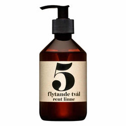 Terrible Twins LIQUID SOAP No5 - Pure Linen handwash organic vegan