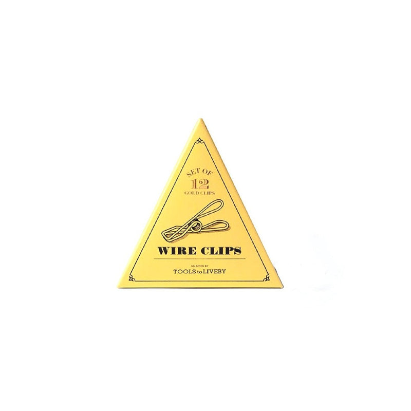 WIRE CLIPS - gold