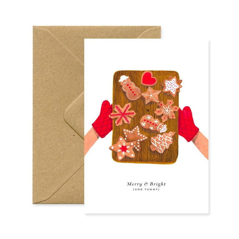 ALLTHEWAYSTOSAY XMAS COOKIES Xmas Greeting Cards Made in France
