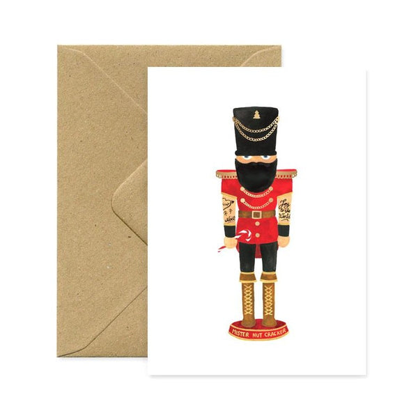 ALLTHEWAYSTOSAY MISTER NUTCRACKER Xmas Greeting Cards Made in France