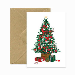 ALLTHEWAYSTOSAY XMAS TREE Xmas Greeting Cards Made in France