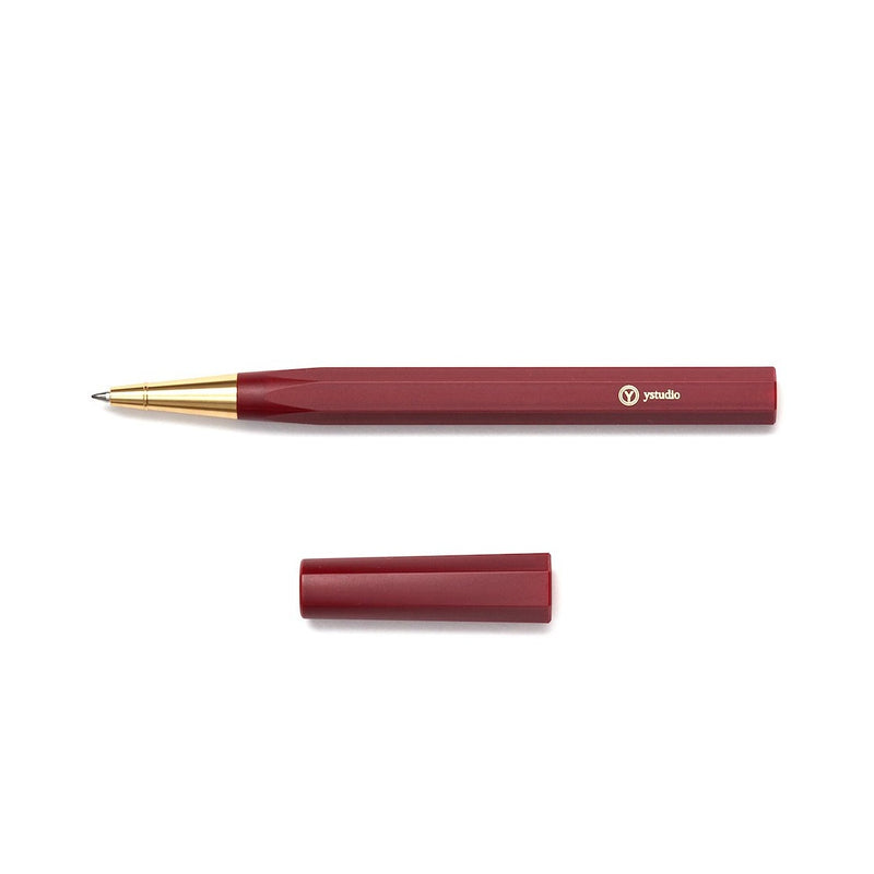YStudio RESIN Roller Pen red Schreibgerät Handcrafted in Taiwan