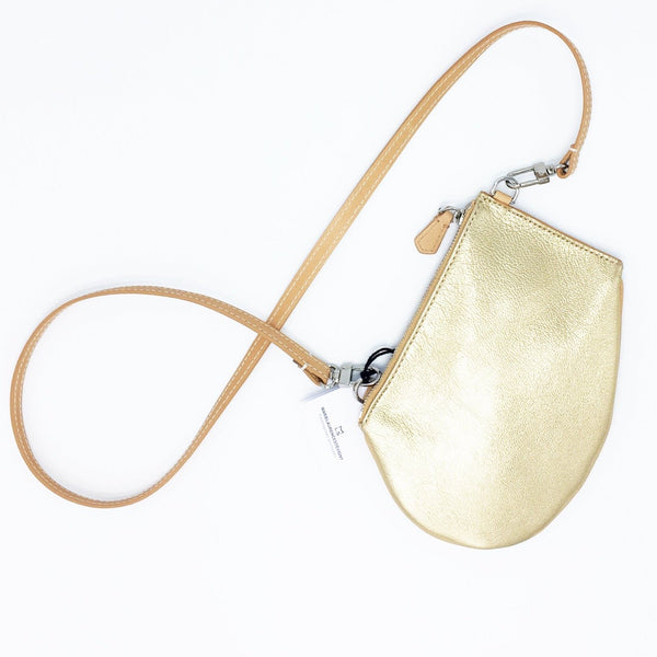 MLS, ZIP MEDIUM BAG, natural, gold, crossbody bag, Accessoires Geschenk Gift