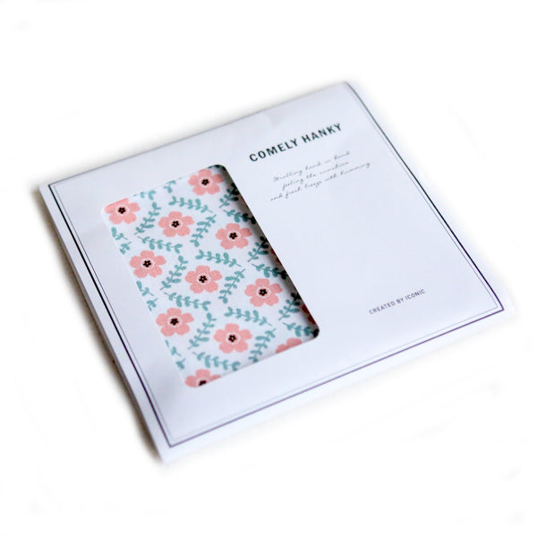 ICONIC COMELY HANKY Petal Made in Korea Geschenk Gift Nikkituch