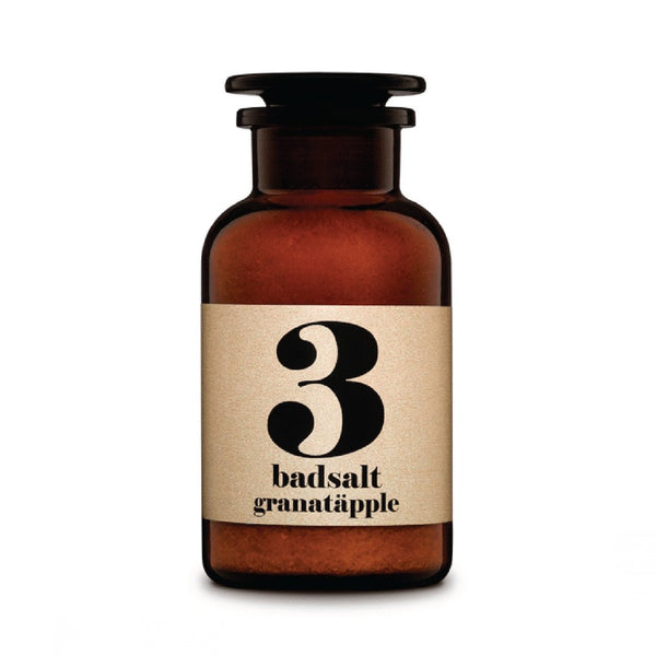 Terrible Twins BATH SALT No3 Granatapfel organic beauty vegan homeSpa