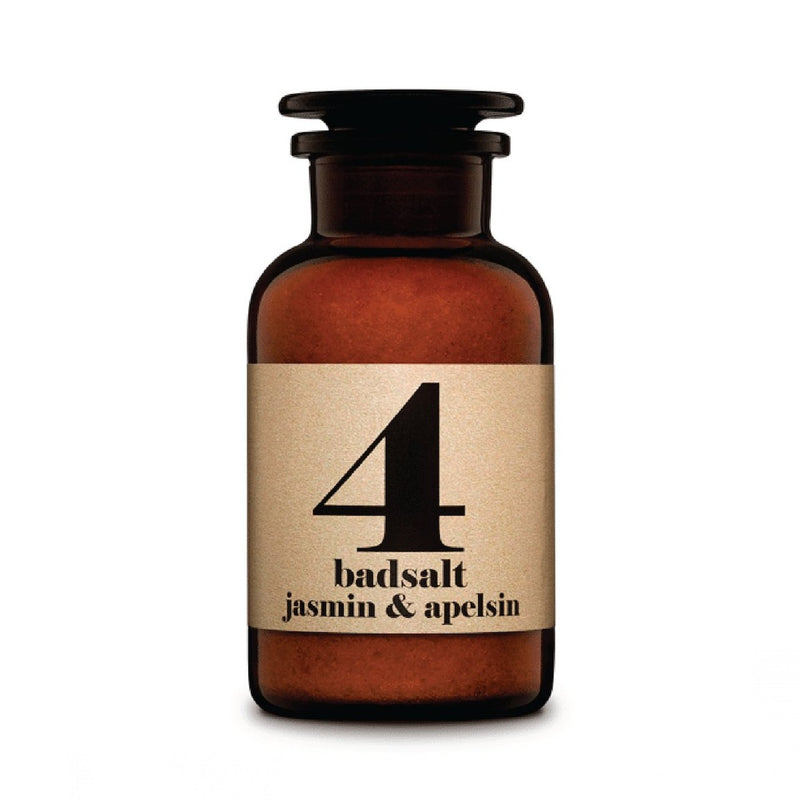 Terrible Twins BATH SALT No4 Jasmin & Orange organic vegan homeSpa
