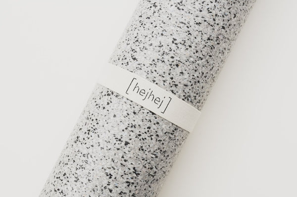 Hejhej mat - YOGAMAT & YOGA STRAP - light COLOR - recycling yoga mat made in Germany