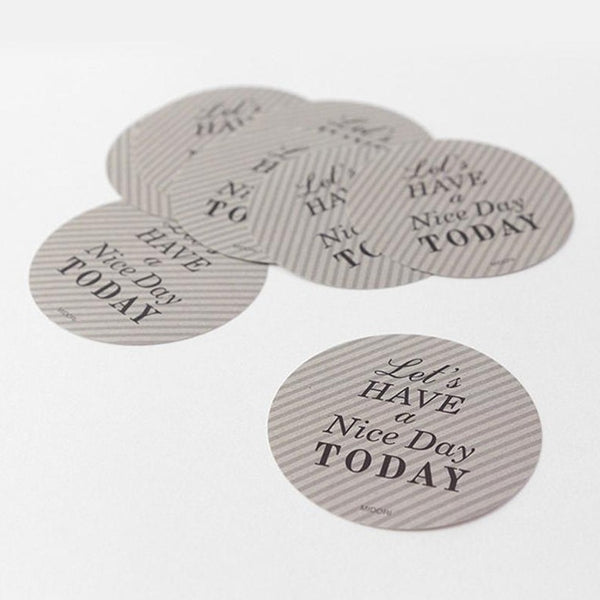 MIDORI GIFT STICKER Have a nice day Made in Japan stickers, Geschenk