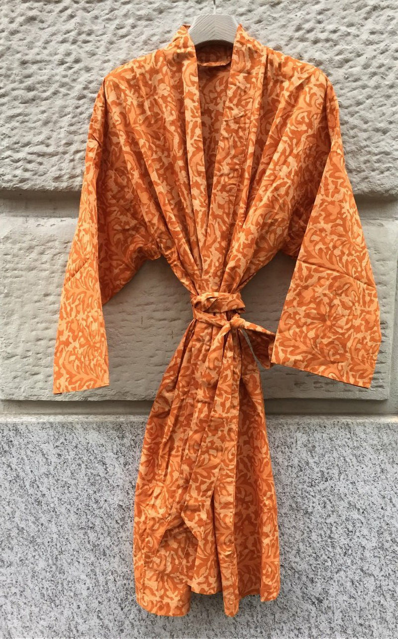 KIMONO, burnt orange - ASANDRI STUDIO