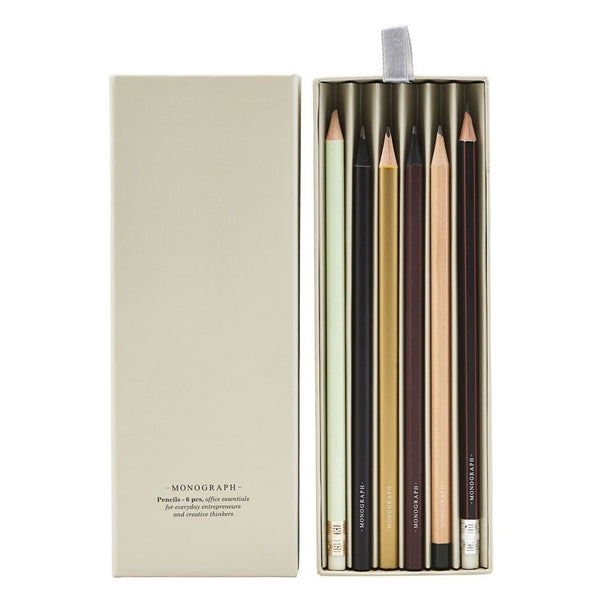 Monograph-Pencil-Box-Assorted-Geschenk-Box-Paper-Therapy-Bleistift