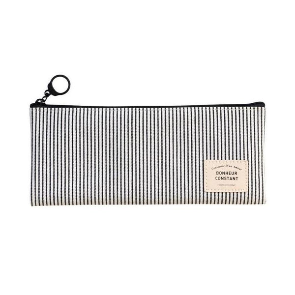 ICONIC BASIC PENCASE stripe Made in Korea Geschenk Gift stationary