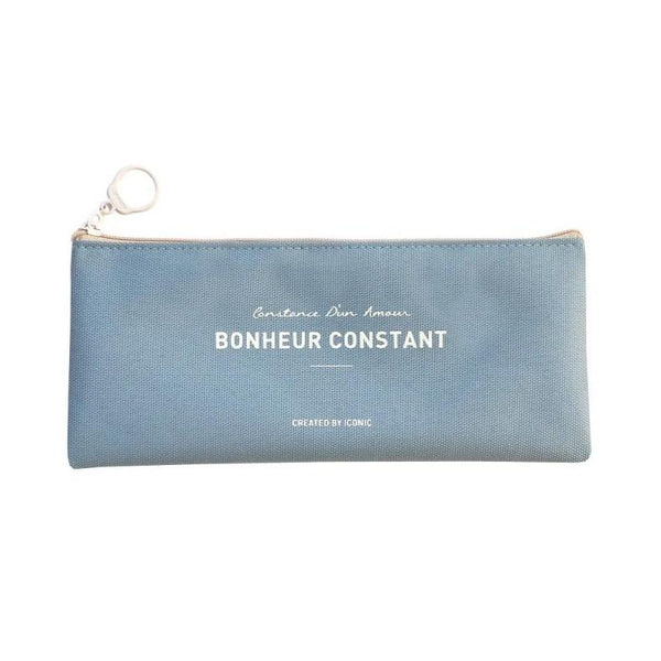 ICONIC BASIC PENCASE skyblue Made in Korea Geschenk Gift stationary