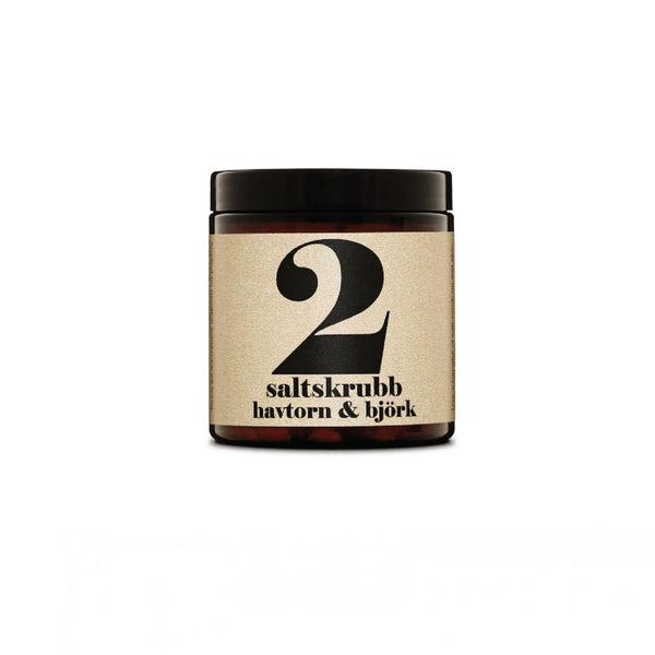 Terrible Twins SALT SCRUB No2 - Sanddorn Birke organic peeling HomeSpa