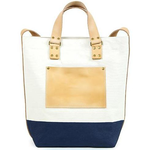 Superior Labor Japan, Canvas 2way Bag navy Handmade slowfashion fair