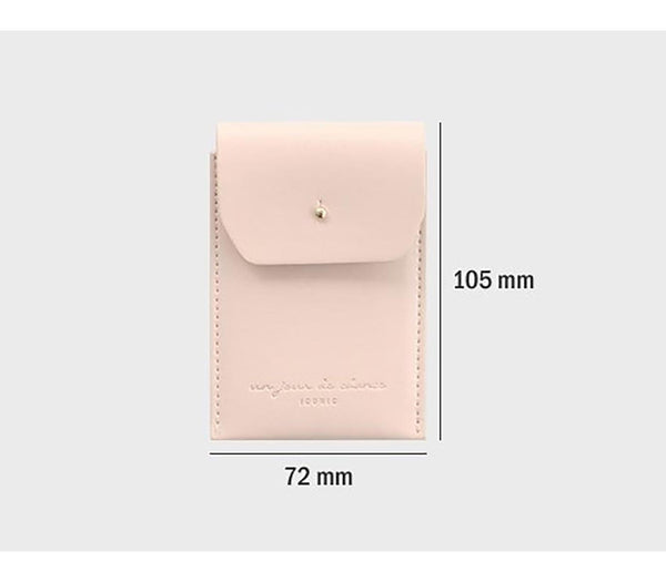 ICONIC SLIT NECK CARD POCKET indirose Made in Korea Geschenk Gift