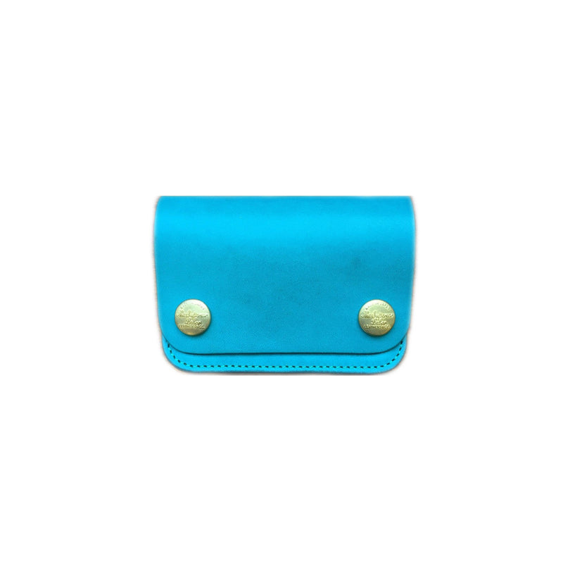 Superior Labor Japan SMALL WALLET aqua Geschenk Handmade crafted fair