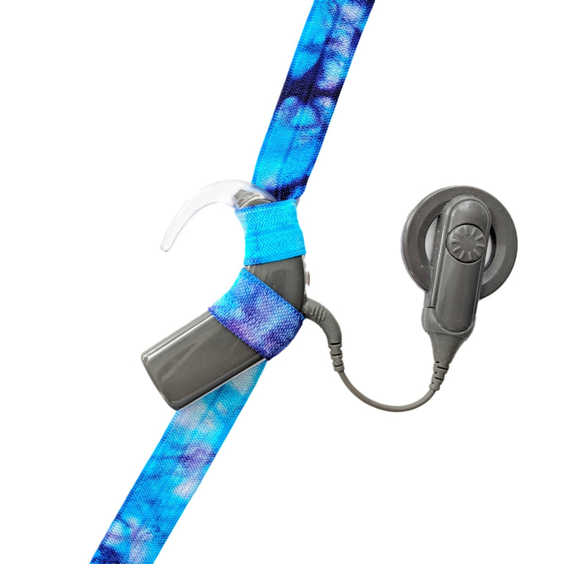 Tie-Dye Cochlear Implant Headbands