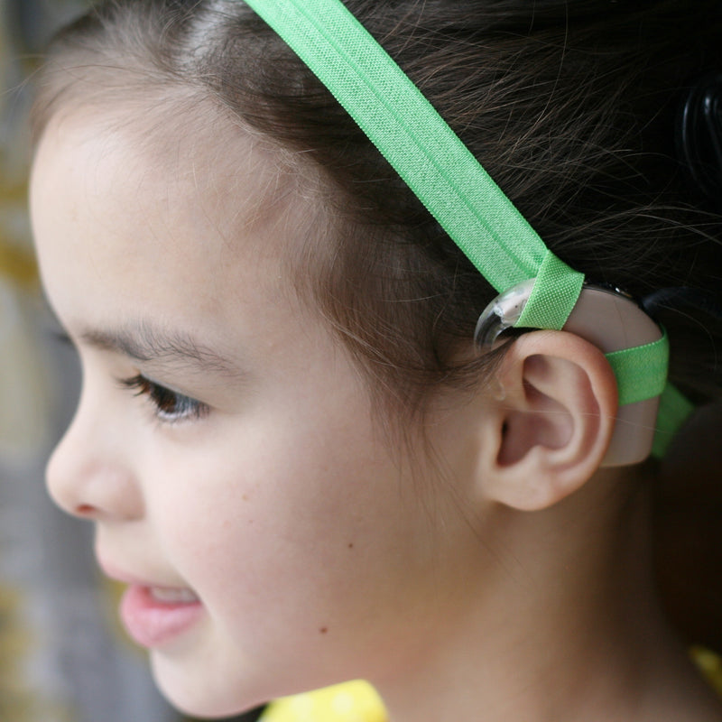 Narrow Top Loop Cochlear Implant Headband