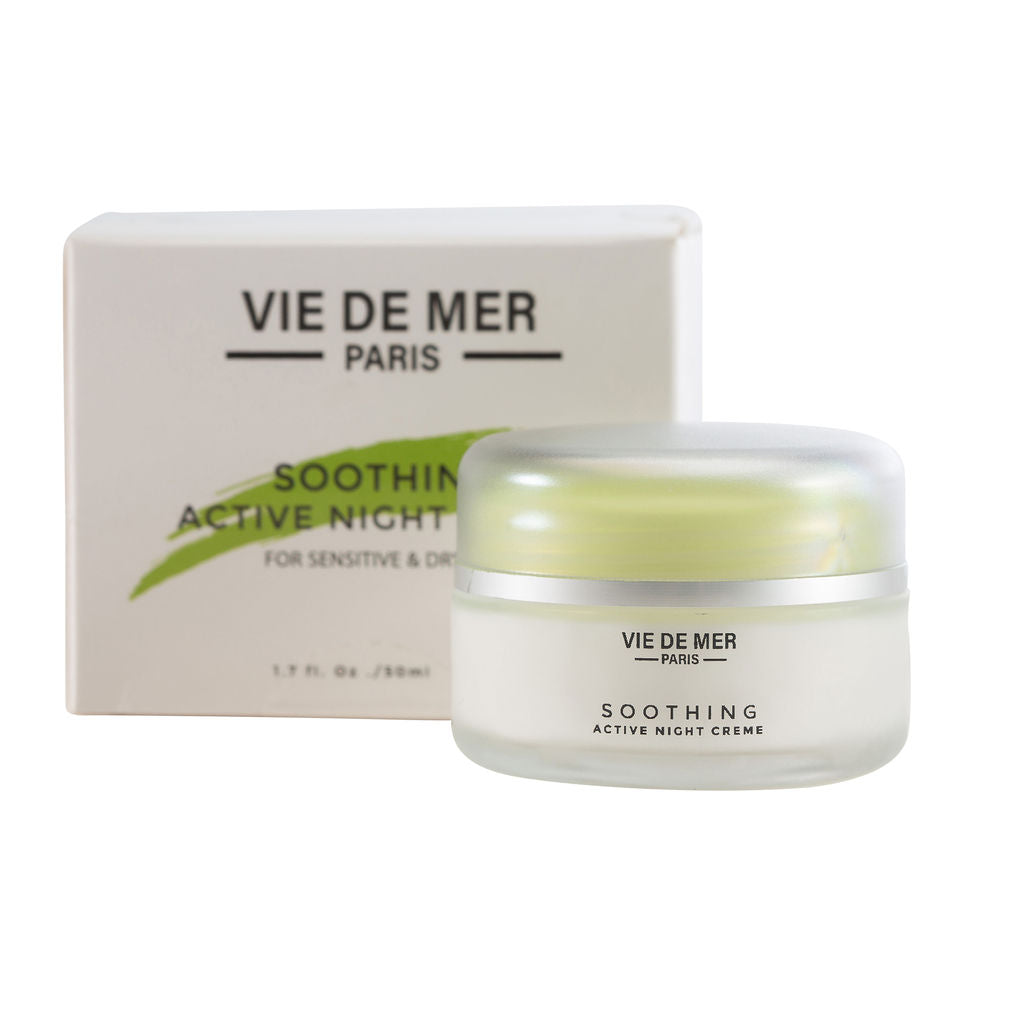 Soothing Organic Active Night Cream